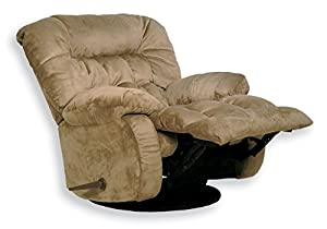 CATNAPPER 45175222029 Teddy Bear Saddle Chaise Swivel Glider Recliner