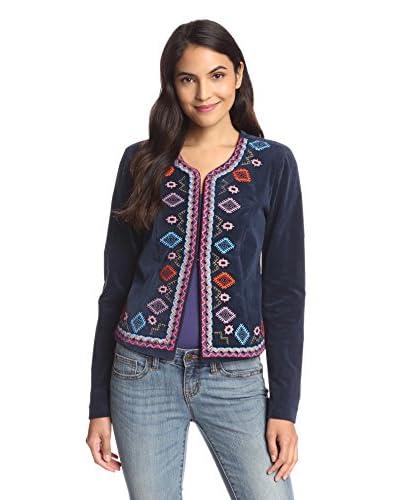 Lez a Lez Women's Embroidered Detail Jacket