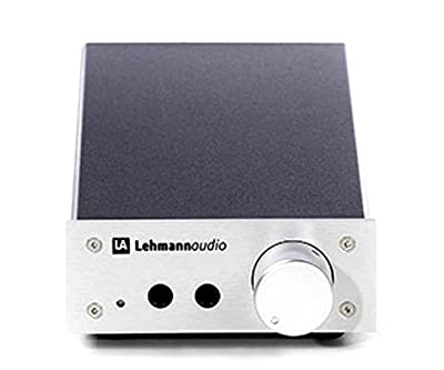 Lehmann Audio Linear USB - Headphone Amplifier - Silver Trim, gain selectable 0db, 10dB, 20dB by Lehmann Audio