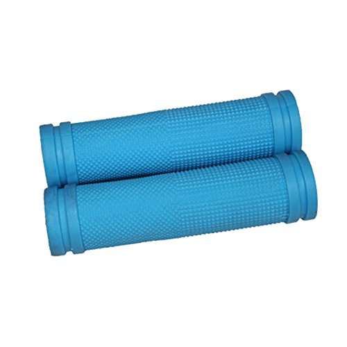 1 Paar Fahrrad-Zyklus-Fahrrad-Gummi Lenker Lenkergriffe,blau