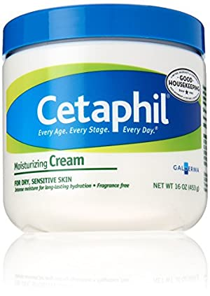 Cetaphil Moisturizing Cream, Fragrance Free,  16 Ounce
