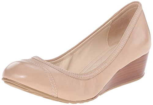 Cole Haan Women's Tali Cap Toe 40 Wedge Pump, Maple Sugar Leather, 5.5 B US (Cole Haan Wedge compare prices)