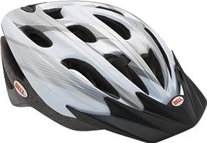 Bell Ukon Cycle Helmet - White/Silver, 54-61cm