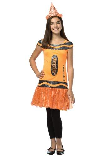 Tween Crayola Metallic Sunburst Glitz Dress