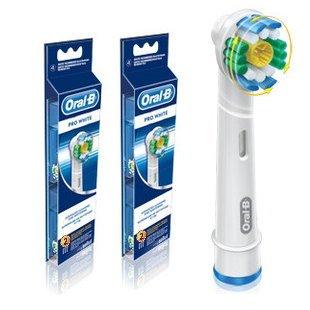ブラウン オーラルB 電動歯ブラシ 替ブラシ ステイン 除去ブラシ 4本入り EB18ー4
