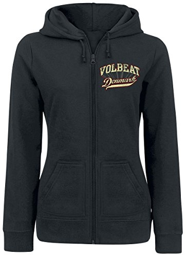 Volbeat Rise From Denmark Felpa jogging donna nero XL