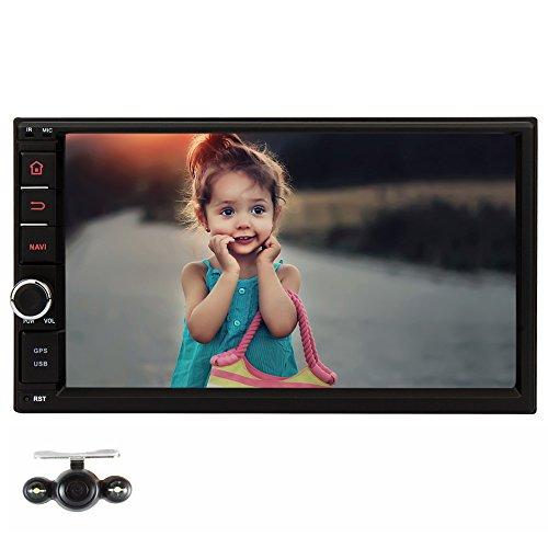NAVISKAUTO-7-Autoradio-Car-Stereo-Auto-Digital-Touchscreen-1024x600-2-DIN-Universal-Android-44-Quad-Core-Navigation-Untersttzt-DAB-RadioAMFM-Tuner-USB-Port-Micro-SD-Slot-BluetoothRckkamera-iPod-Input-