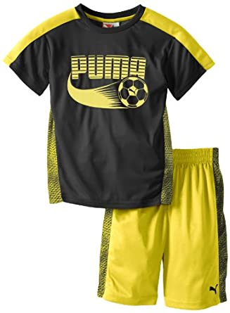 Amazon.com PUMA Little Boysu0026#39; Soccer Set Clothing