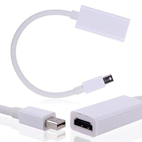 Haute Qualité Haute Puissance Adaptateur Mini Display Port DP vers HDMI pour Apple MacBook Pro Air iMac par TB1Products®