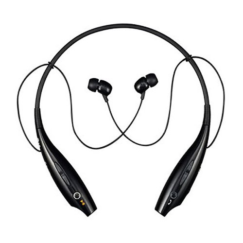 Lg Tone (Hbs-700) Wireless Bluetooth Stereo Headset - Bulk Packaging - Black/orange