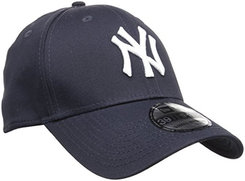 New Era - MLB Basic NY Yankees 39Thirty Stretch Back, Baseball beretto da uomo, multicolore (navy/white), M / L