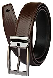 Discover Fashion Men's Leather Brown Belt (BL-CF-12)