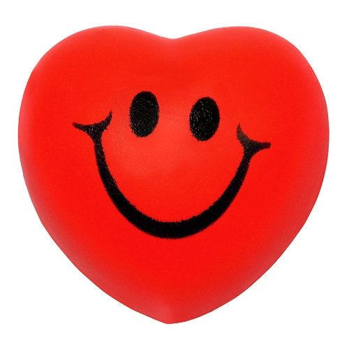Heart Stress Toy - Smile Face - 1