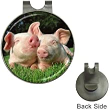 Pig Brothers Golf Ball Marker Hat Clip