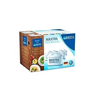 BRITA MAXTRA Water Filter Cartridges - 4 Pack