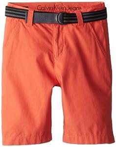 Calvin Klein Boys 8-20 Belted Short by Calvin Klein