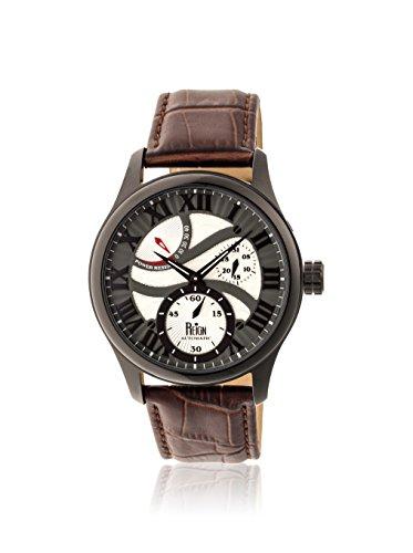 Reign Automatic Men's Bhutan Dark Brown/Multicolor Leather Watch
