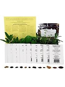 Medicinal Herb Seed Mix - Healing Herb Seeds - Valerian Cayenne Yarrow More