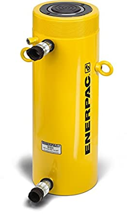 "Enerpac RR-1012 Double-Acting Hydraulic Cylinder with 10 Ton Capacity, Double Port, 12.00"" Stroke Length"