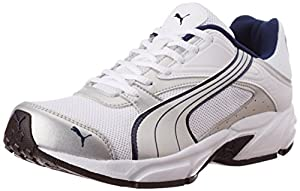 Puma Men's Volt. II Ind. White Mesh Running Shoes