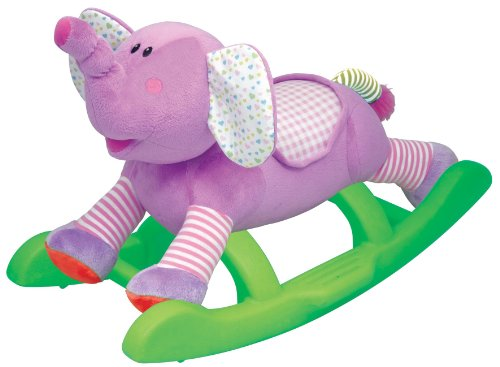 Kiddieland Toys Rocking Elephant Ride On - 1