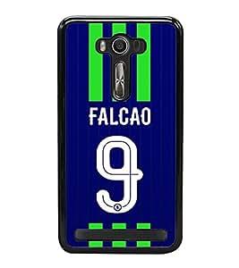 PRINTVISA Football Falcao Case Cover for Asus Zenfone 2 Laser ZE500KL::Asus Zenfone 2 Laser ZE500KL (5 Inches)