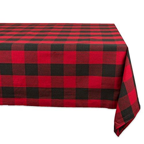 100% Cotton Plaid Tablecloth