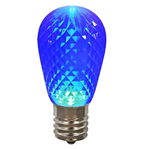 northlight club led blue replacement christmas light bulbs e26 base pack 25. Black Bedroom Furniture Sets. Home Design Ideas