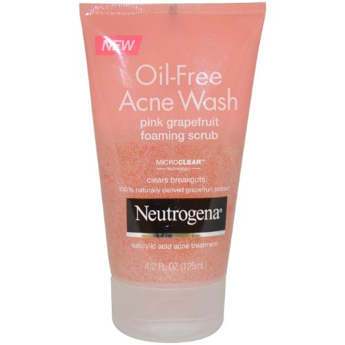 oil acne wash pink grapefruit