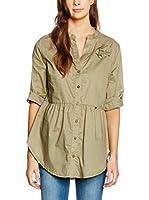 Rinascimento Camisa Mujer (Verde Militar)