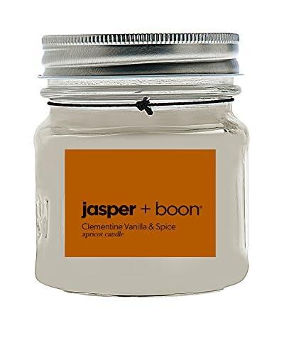 Bluewick Candles 8-Oz. Clementine, Vanilla & Spruce Jasper + Boon Mini Mason Candle