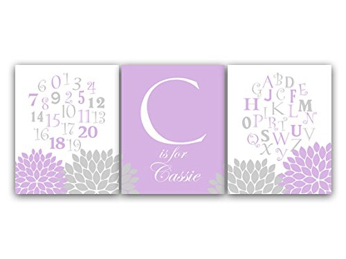 Personalized Alphabet Wall Art front-1036104