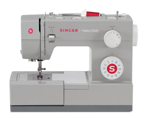 SINGER 4423 Heavy Duty Model Sewing Machine With Metal Interior Frame and Stainless Steel Bedplate