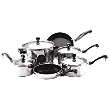 Farberware Classic Stainless Steel 10-Piece Cookware Set