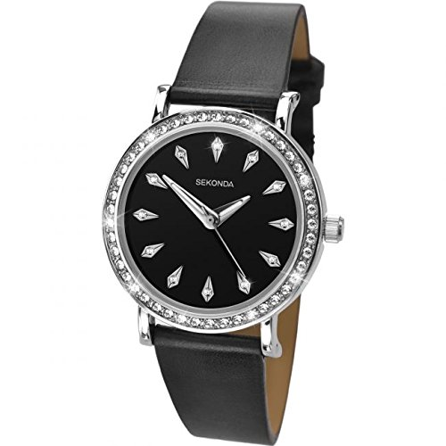 ... Ladies Strata Silver Black Watch for sale in Johannesburg (ID