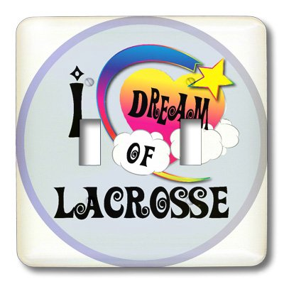 Lsp_166063_2 Dooni Designs Dreamer Dreaming Of Designs - Cute Girly Heart Star Clouds I Dream Of Lacrosse - Light Switch Covers - Double Toggle Switch front-233940