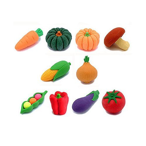 mini-vegetable-puzzle-erasers-set-of-10-pieces-by-iwako