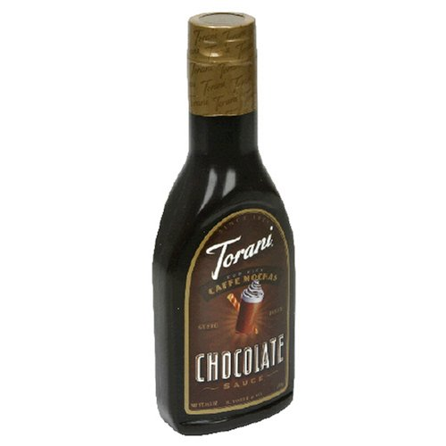 Torani Original Mocha Sauce, Chocolate, 16.5-Ounce Bottles (Pack of 6)