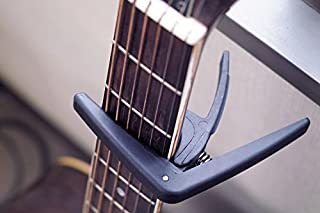 JOYO JC-17 Guitar Capo �������ѥ��ݥ����� ���쥭���������ե������������� (�֥�å�)