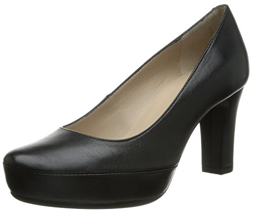 Unisa NUMAR_F15, Decolleté chiuse donna, Nero (Black (nero)), 39