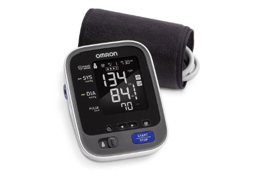 Omron Bp786 10 Series Upper Arm Blood Pressure Monitor With Bluetooth Smart With Expandable Cuff To Fit Medium And Large Arms front-607412