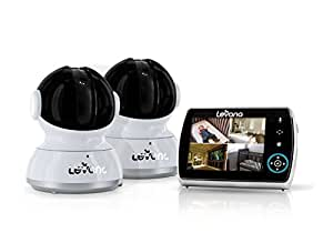 levana keera 3 5 lcd pan tilt zoom digital baby video monitor with 10hr battery. Black Bedroom Furniture Sets. Home Design Ideas