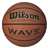 Wilson NCAA Wave Microfiber Composite Basketball, Orange