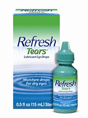 Refresh Tears¢ç Lubricant Eye Drops Four Bottles, 15ml Each and One 5ml Bottle