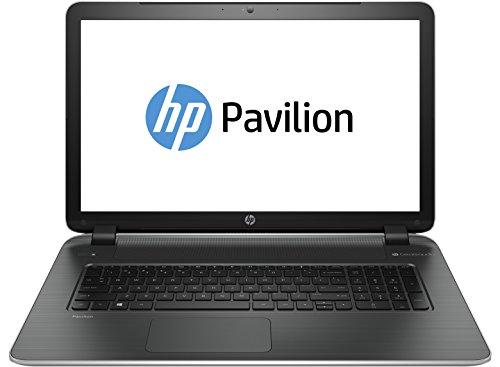 HP 17-f054ng 43,9 cm (17,3 Zoll) Notebook (AMD Quad-Core A10-5745M, 2,1GHz, 8GB RAM, 750GB HDD, Radeon R7 M260, DVD, Win 8) silber