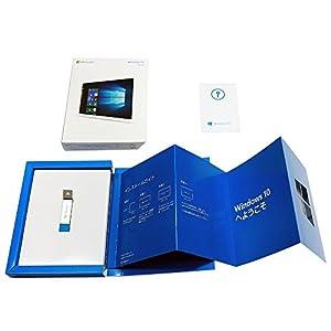 Microsoft Windows 10 Home (32bit/64bit 日本語版 USBフラッシュドライブ)【新価格版】