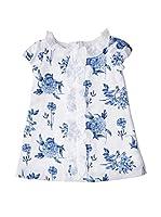 Fina Ejerique Vestido (Blanco / Azul)