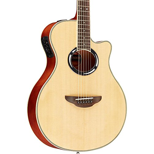 Yamaha Apx500Iii Thinline Cutaway Acoustic-Electric Guitar Natural