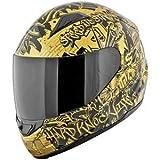 Speed and Strength SS1500 Hard Knock Life Helmet - Medium/Gold/Black