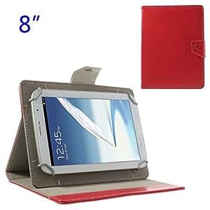 N5100 N5110 8-Inch Tablet, Red (MSP-379B): Computers & Accessories